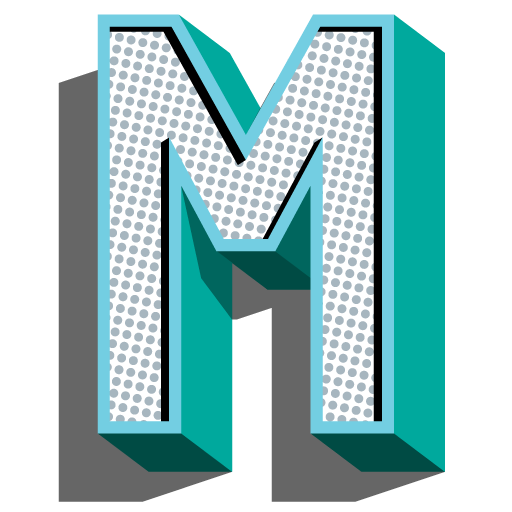 "Make Fuzzy Tracks ""M"" site icon"